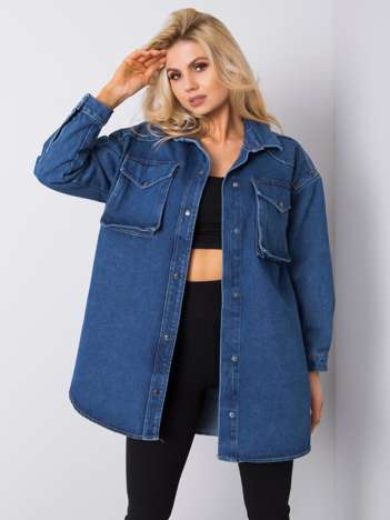 Niebieska koszula jeansowa Ricarda RUE PARIS