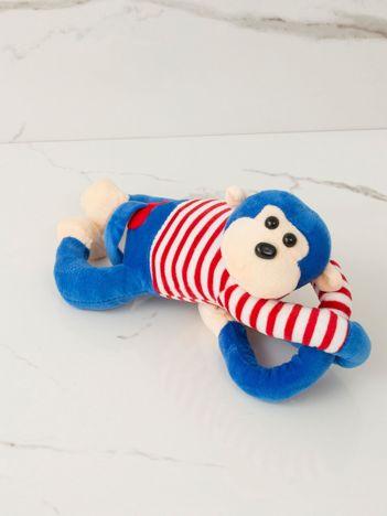 Niebieska maskotka Małpka