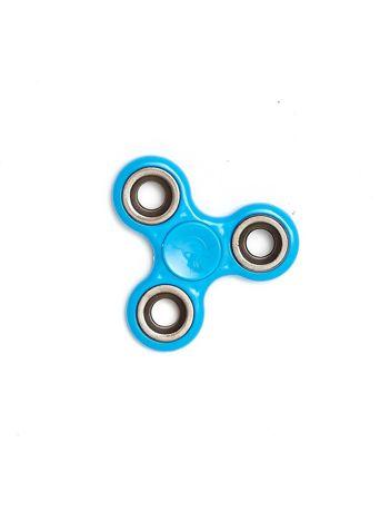Niebieski metalowy hand fidget spinner