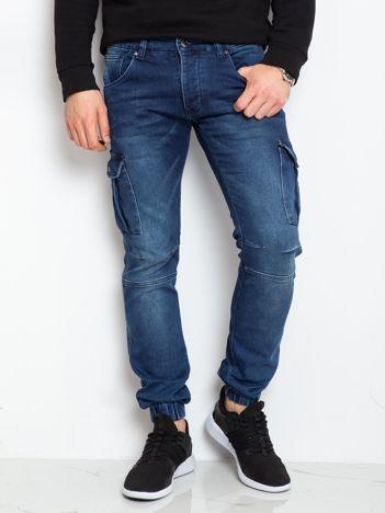 Niebieskie jeansy Connor