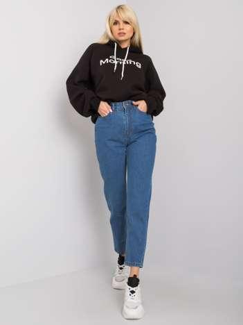 Niebieskie spodnie mom jeans Vera RUE PARIS