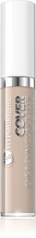 Nowość! BELL HYPOAllergenic Hypoalergiczny korektor kamuflujący COVER EYE&SKIN CONCEALER 10