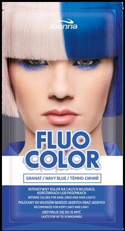 Nowość! JOANNA Fluo Color Szamponetka koloryzująca Granat 35 g