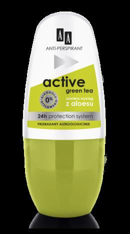 OCEANIC AA DEO ANTI-PERSPIRANT Dezodorant Multifunctional 8in1 Active Green Tea 24 h 50 ml