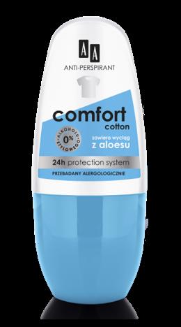 OCEANIC AA DEO ANTI-PERSPIRANT Dezodorant Multifunctional 8in1 Comfort Cotton 24 h 50 ml