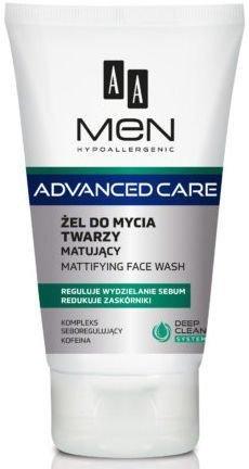 OCEANIC AA MEN ADVANCED CARE Żel do mycia twarzy matujący 150 ml