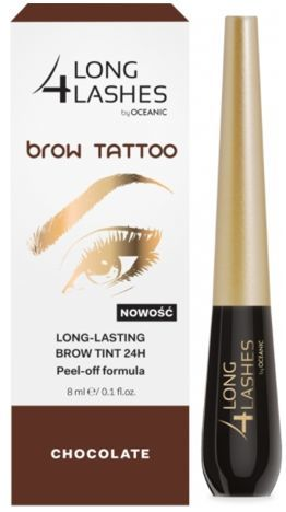 OCEANIC Long4Lashes Brow tattoo long lasting brow tint 24H Chocolate 8 ml