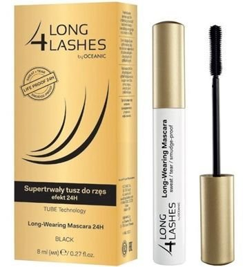 OCEANIC Long4Lashes Supertrwały tusz do rzęs efekt 24H Long-Wearing Mascara 24H 8 ml