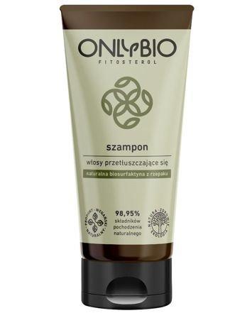 ONLYBIO Szampon naturalny do włosów przetłuszczających się 200 ml
