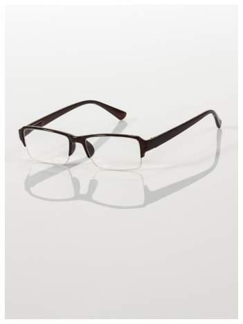 Okulary korekcyjne +2.5 D do czytania z systemem FLEX na zausznikach +GRATIS PLASTIKOWE ETUI I ŚCIERECZKA Z MIKROFIBRY