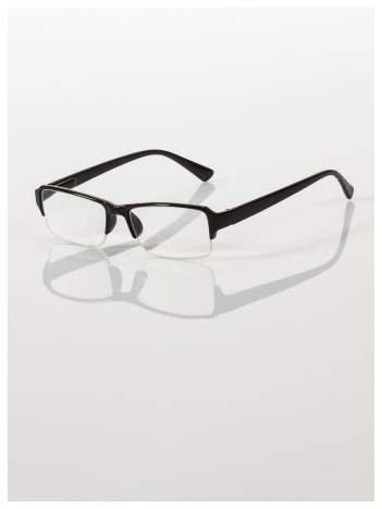 Okulary korekcyjne +3.0 D do czytania z systemem FLEX na zausznikach +GRATIS PLASTIKOWE ETUI I ŚCIERECZKA Z MIKROFIBRY