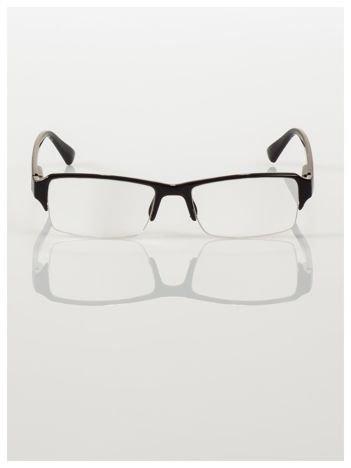 Okulary korekcyjne +3.5 D do czytania z systemem FLEX na zausznikach +GRATIS PLASTIKOWE ETUI I ŚCIERECZKA Z MIKROFIBRY