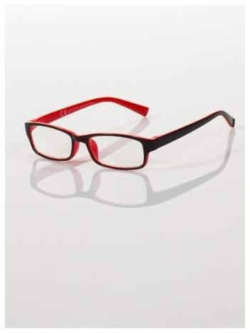 Okulary korekcyjne dwukolorowe do czytania +2.5 D