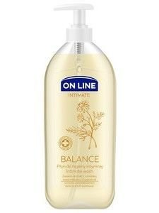 On Line Intimate Płyn do higieny intymnej Balance z rumiankiem  500 ml