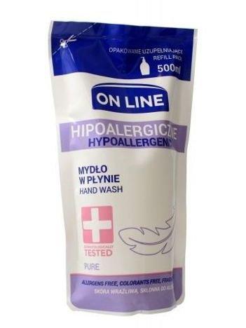 On Line Mydło w płynie Hipoalergiczne Pure - uzupełnienie  500 ml