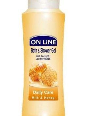 On Line Płyn do kąpieli i pod prysznic 2 w 1 Daily Care  750 ml