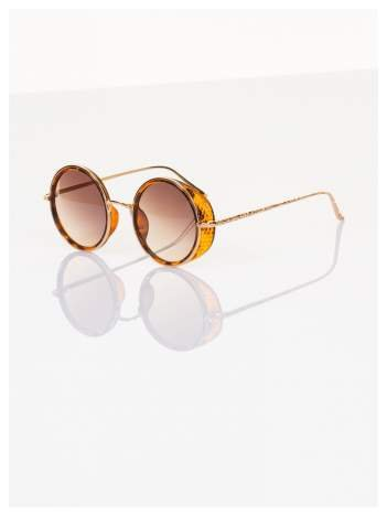 """PANTERA okulary przeciwsłoneczne """"LENONKI"""" w stylu RETRO"""