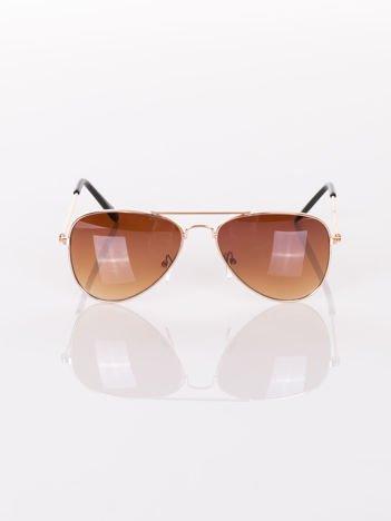 PILOTKI AVIATORY  Stylowe okulary dziecięce z filtrami UV