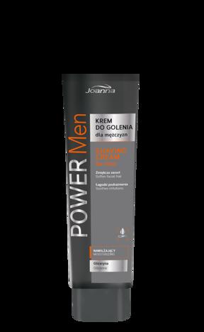 POWER MEN Krem do golenia dla mężczyzn z gliceryną  70g
