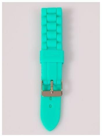 Pasek silikonowy do zegarka 20 mm - zielony