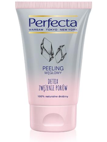 Perfecta Peeling węglowy do twarzy Detox i Zwężenie Porów 120g