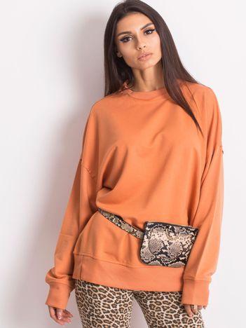 Pomarańczowa bluza Wild