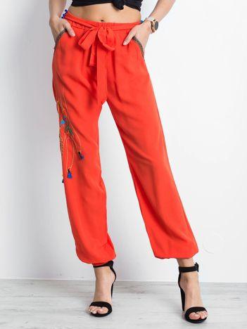 Pomarańczowe spodnie Awareness