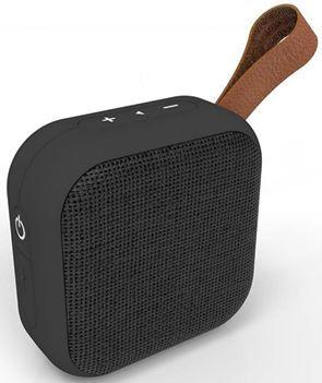 Q-touch Odporny na wodę IPX5 głośnik stereo bluetooth 4.2 Odtwarza muzykę 2,5h Kolor czarny