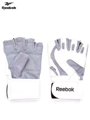 REEBOK Białe rękawiczki treningowe