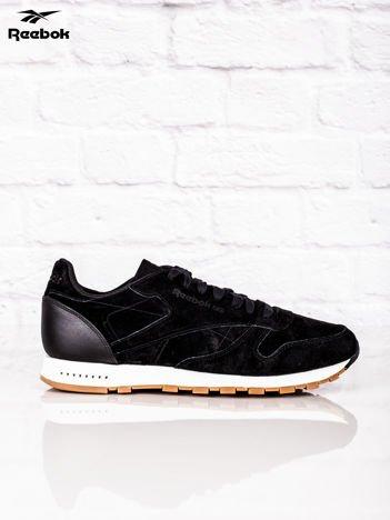 REEBOK Czarne buty sportowe męskie CL LEATHER SG
