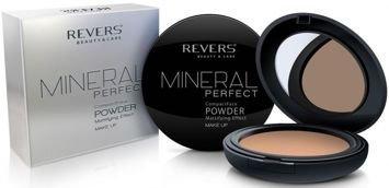 REVERS Mineral Perfect puder prasowany 04 8g