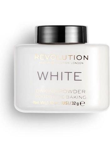 REVOLUTION Puder Sypki do bakingu Loose Baking Powder White 32 g