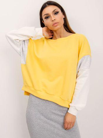 RUE PARIS Żółta bluza Mona