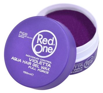 RedOne AQUA WAX FULL FORCE VIOLETTA ZAPACH JAGODOWY 150 ML