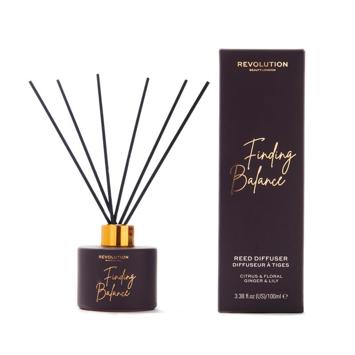 """Revolution Beauty Dyfuzor zapachowy do pomieszczeń Finding Balance - patyczki+olejek 100ml"""""""