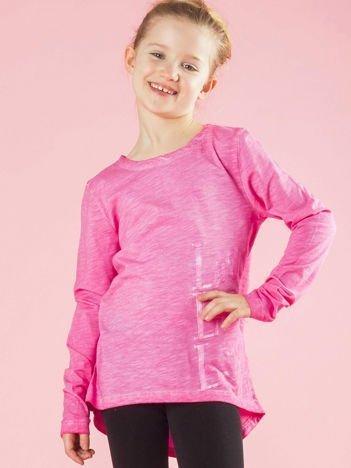 Różowa bluzka dziewczęca