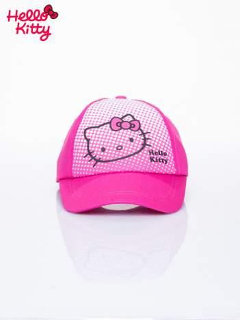 Różowa czapka z daszkiem dla dziewczynki HELLO KITTY