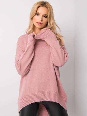 Różowy sweter Lily RUE PARIS
