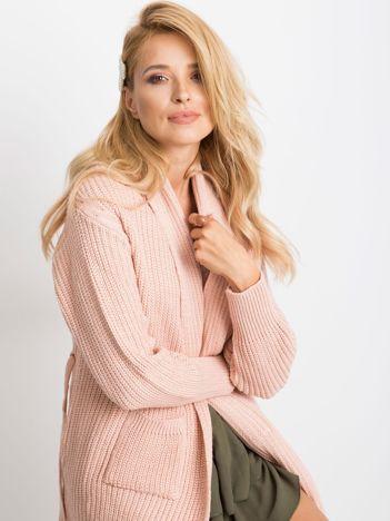 Różowy sweter Miracle