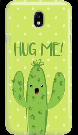 SAMSUNG J7 2017 CACTUS HUG ME