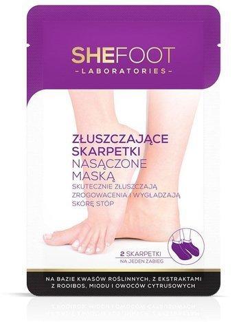SHEFOOT Maska do stóp złuszczająca z jednorazową skarpetą (Exfoliating Foot Mask with socks)