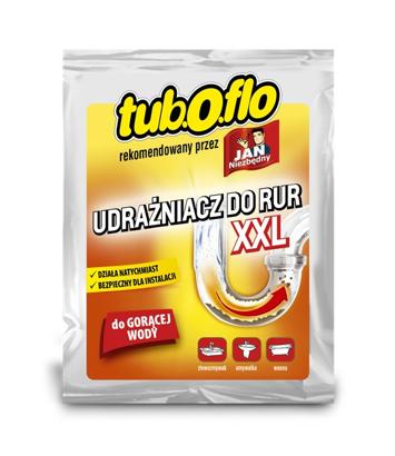 Sarantis Jan Niezbędny Tub.O.flo Udrażniacz do rur XXL - do gorącej wody 100 g