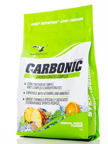 Sport Definition - Odżywka węglowodanowa Carbonic - 1000g Tropical fruits