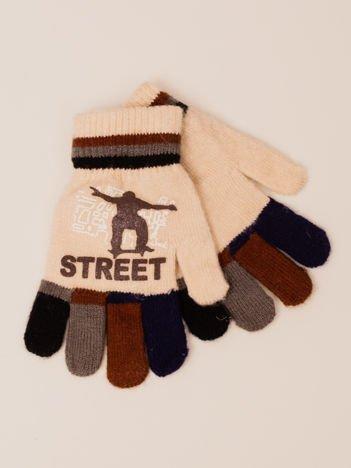 Sportowe Chłopięce Rękawiczki Zimowe 14cm (3-6 LAT)