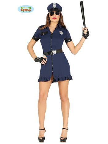 Strój dla dorosłych Policjantka