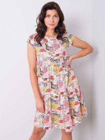 Sukienka we wzory Majesty