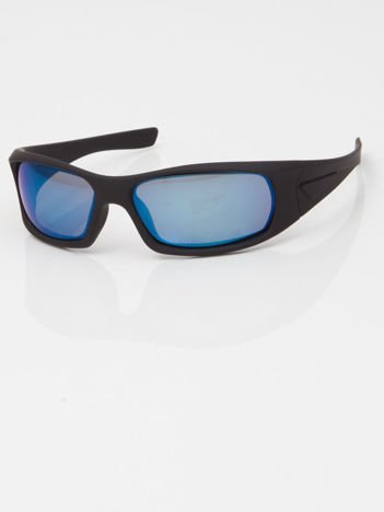 """Sur Pass Sportowe okulary męskie lustrzanki """"soft touch"""""""
