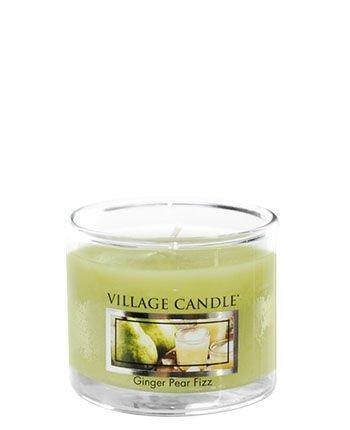 Świeca zapachowa Village Candle Mini Glass 29gr - Ginger Pear Fizz