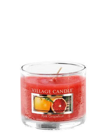 Świeca zapachowa Village Candle Mini Glass 29gr - Pink Grapefruit