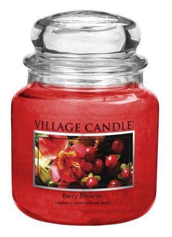 Świeca zapachowa Village Candle ŚREDNIA 453 gr - Berry Blossom